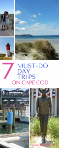 Plan your perfect summer vacation now with these 7 must-do day trips on Cape Cod. So much to do and perfect for families or couples.