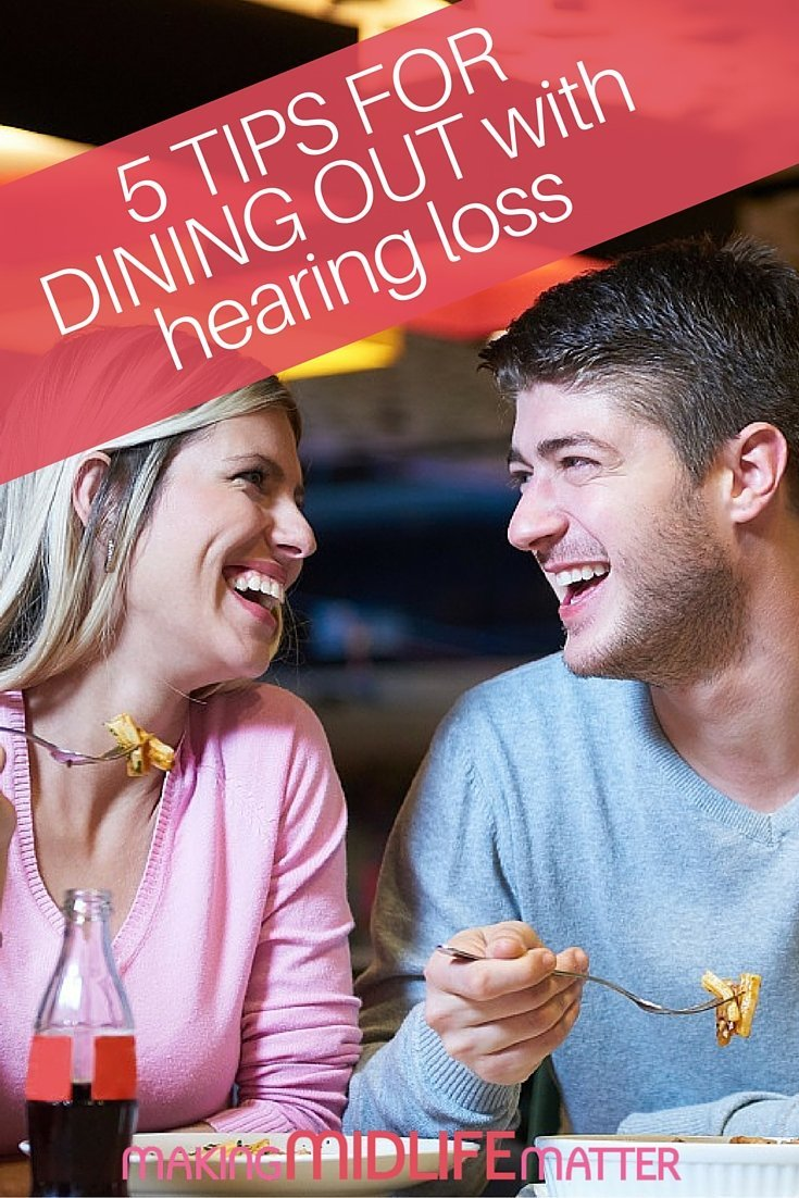 Key characteristics of a good restaurant for people with hearing loss and the importance, of advocating for yourself when dining out.