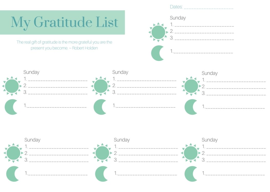 "Gratitude. It's everywhere these days. We've graduated from ""count your blessings"" to millions of research dollars being funded to understand this little attitude. You can start making gratitude a habit today with these easy tips and printable."