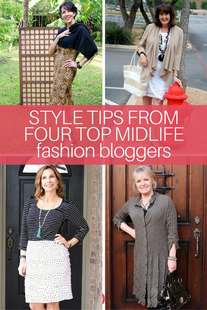Get great fashion advice and up your fashion game! Here's what I learned from four of my favorite Fashion Bloggers.