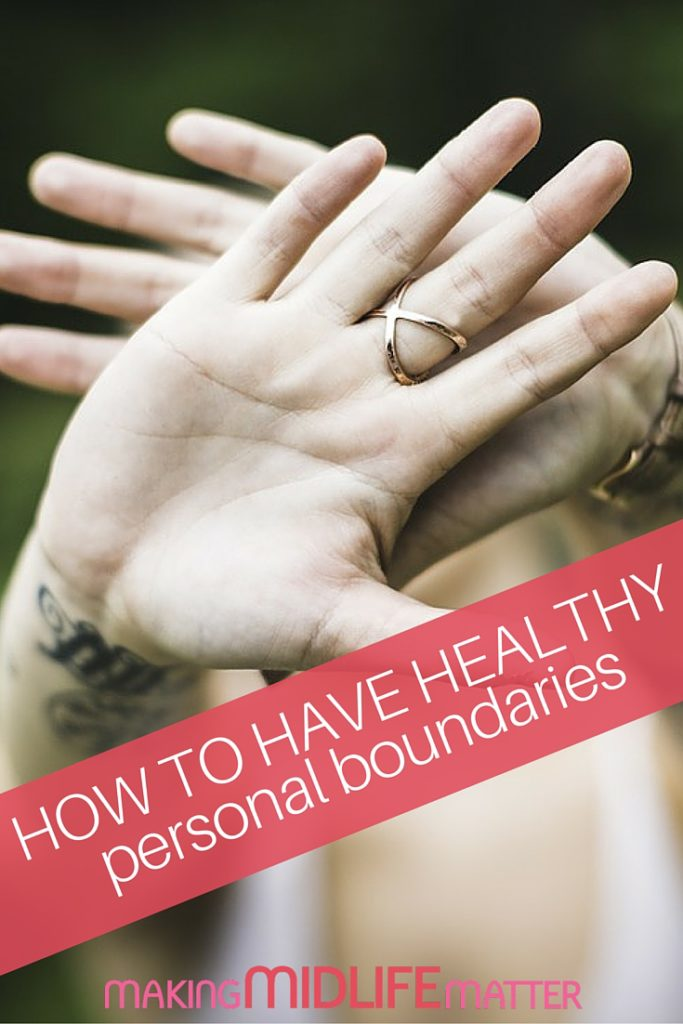 A good set of boundaries is critical to a life that works and relationships that are fulfilling. Saying no is a choice you have. Continuing to do things you don't want to isn't self sacrifice, it's actually unhealthy and unfair to those around you. Time to pull up your adult undies and clearly and calmly stand your ground. Here are some tips to help you do a boundary check-up.