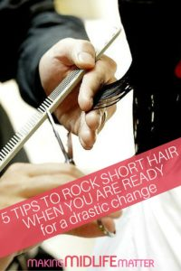 I realize the prospect of short hair is extremely scary for someone who has always sported long hair. Here are some tips to rock short hair when you are ready for a drastic change.