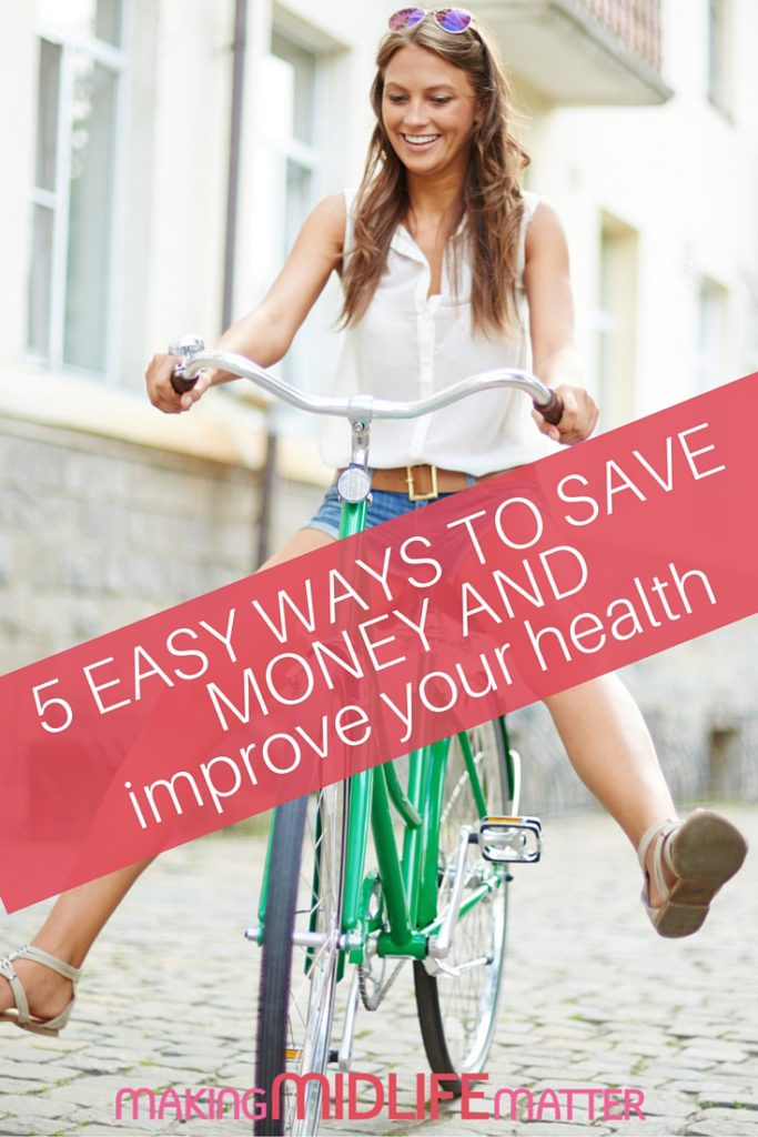 Are your New Year's Resolutions to save money and get fit long forgotten? Let's get you back on track! Living a healthy life rewards you tenfold over time by increasing your money saving, and your overall health and life satisfaction. A total win-win with these 5 easy tips.