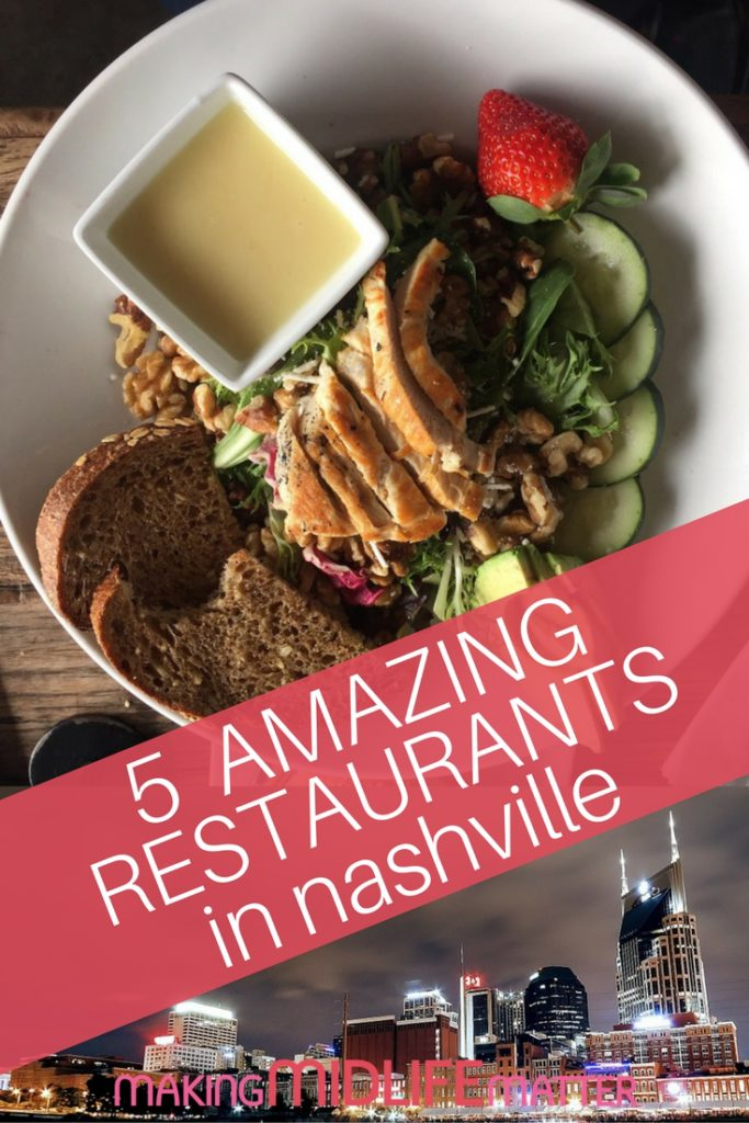 If you like to eat, Nashville is the place for you. The variety of places to eat, types food and price range are astounding!
