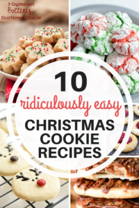 Delight your family and friends this season with these fun Cookies! Easy bake cookie recipes for last minute baking.