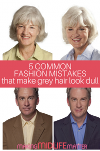Are you feeling dull and boring now that you have transitioned to grey hair? You need a colour consultation! Check out these fashion tips by Jill Kirsh to find out what colors you should be wearing.