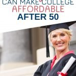 Starting the college application process as an adult over 50 and finding the funds to help pay for the fees involved with going back to school can seem overwhelming. Click through for the one tool you need to make going back to college as a midlife woman affordable and less stressful.