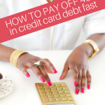 If you are struggling with your finances and can't make ends meet, this article will teach you how to pay off your credit card debt fast and guide you through 7 ways to become debt-free. #debt #credit #debtfree