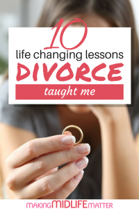 It is a year since my marriage crumbled and in that time I have learned a lot about the person I am, the person I was, and the person I want to be. Divorce has taught me many valuable life lessons. #divorce #lifelessons #relationships