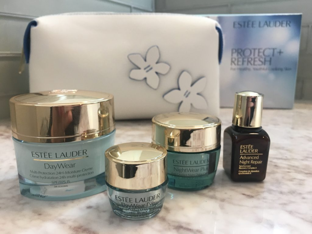 This Estee Lauder set is great for your daily skin care routine.