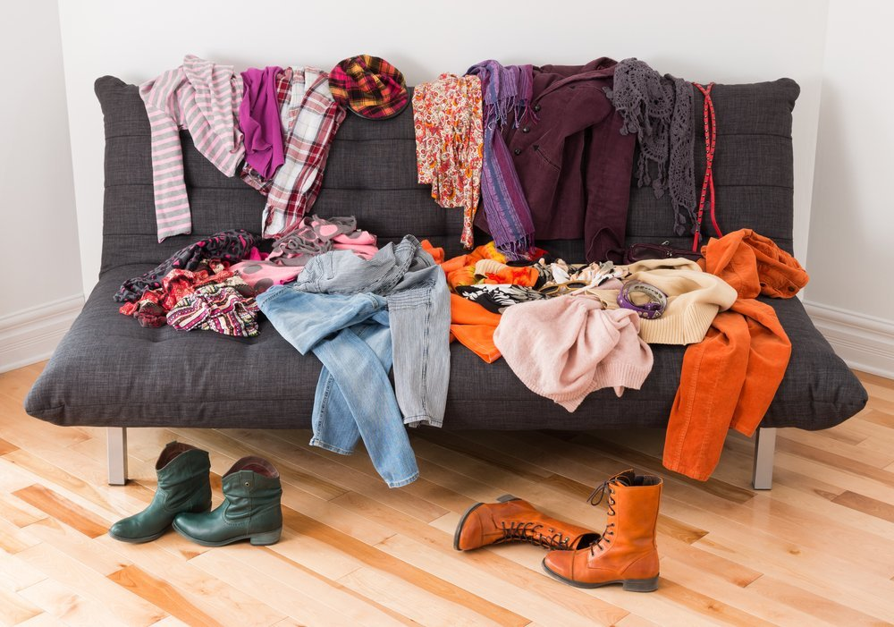 Does your house always look messy despite your efforts to be organized? Time to make some hard decisions about stuff you think you should keep. #declutter