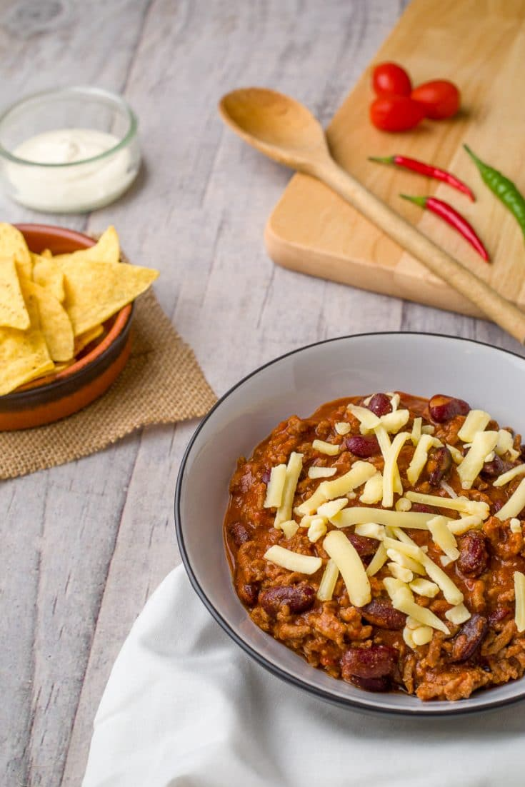 Easy Crock Pot Chilli