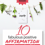 Having a hard time choosing gifts for your friends or the secret Santa? These 10 positive affirmation gifts under $10 give inspiration and motivation all year long. Great as stocking stuffers too! #holidaygiftguide #christmasgifts #moneysaving
