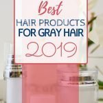 Are you looking for the best hair products for your newly transitioned gray hair? Keep your hair looking sleek and shiny with these products! #grayhair #greyhair #greyhairtransition #haircare