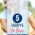 When you are busy and in a rut, you may spend your time dreaming about tomorrow. You'll be happy when... Here's how you can love your life today even if you think it sucks right now. #personaldevelopement #loveyourlife #motivation