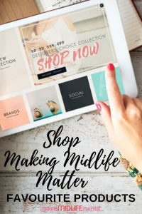 This is a comprehensive list of all my favourite products from Amazon as mentioned in my Making Midlife Matter articles. Everything you need to help you declutter and organize, create your own capsule wardrobe as well as health and beauty products can be found here.