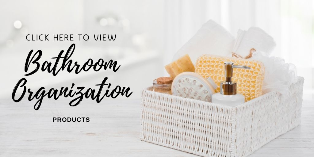 It is important to keep your bathroom neat and tidy as it makes cleaning it that much easier. Check out these storage solutions that will help you keep everything you need organized and easy to access.