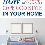Everybody loves the beach so why not bring that beach house style right into your own home? Find inspiration for every room using these 5 elements. Close your eyes and you'll almost be able to hear the waves! #beach #coastal #cottage #beachcottage #beachdecor #decor #coastaldecor