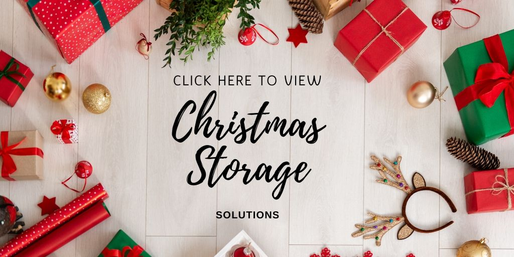Looking to organize all of your Christmas decorations, wrapping and supplies? I got your covered! Christmas storage solutions including your tree and wreath.