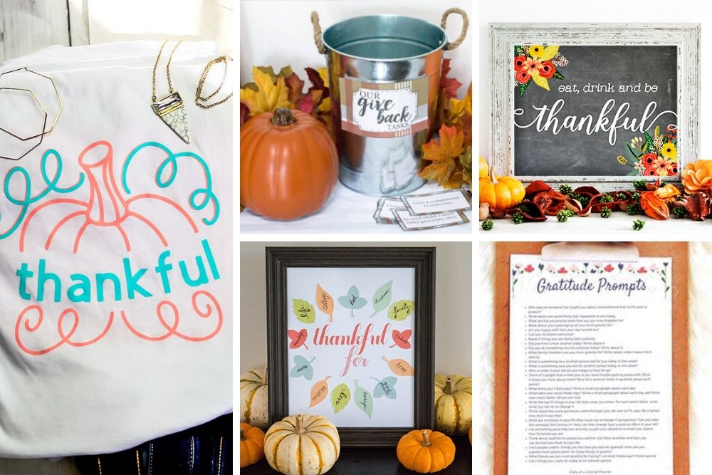10 Gratitude Printables & Crafts