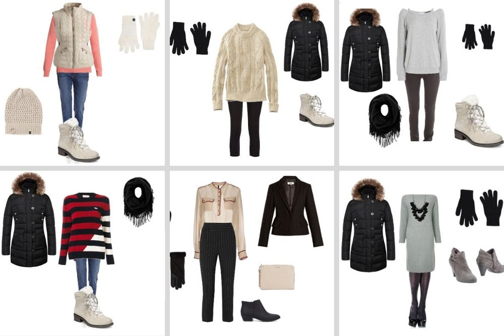 Get Ready Fast! 10 Low-Effort Winter Outfits for Women