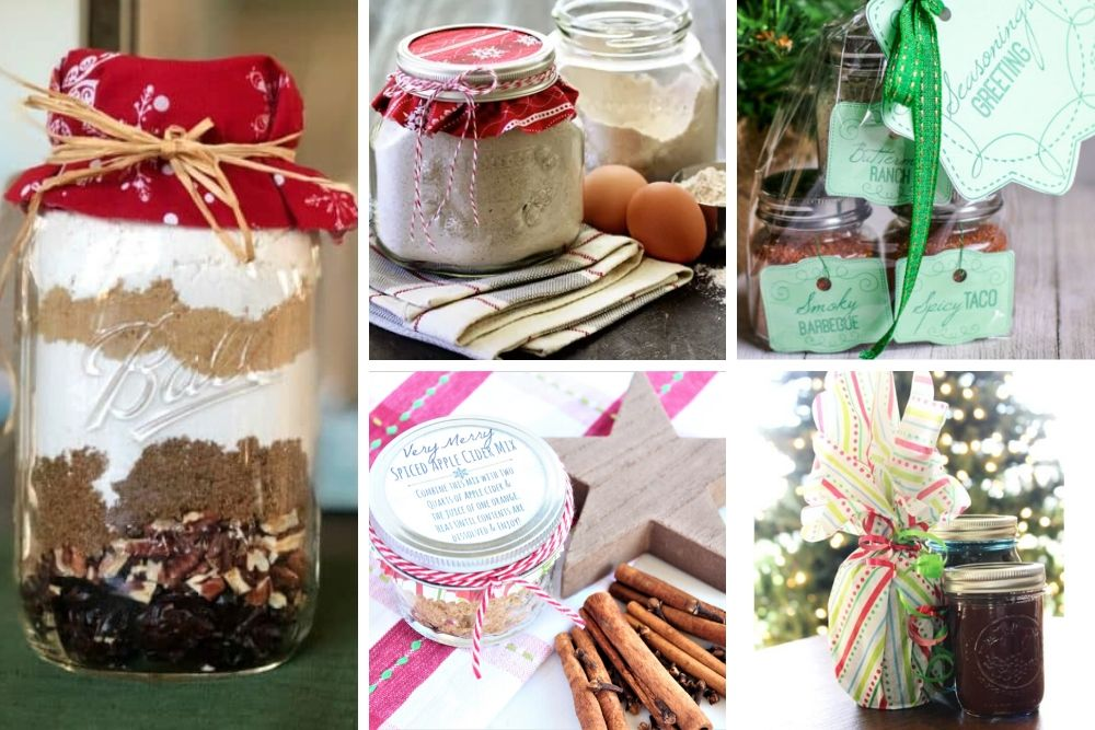 12 DIY Mason Jar Christmas Gift Ideas