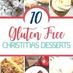 10 Gluten Free Holiday Desserts that are guaranteed crowd pleasers for Christmas! Round up of tarts, brownies, cake and even cookie recipes. Even those that do not have dietary restrictions will love these treats. #christmas #recipes #treats #glutenfree