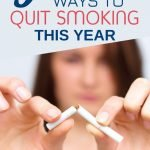 Is quitting smoking on your New Year's resolution list? Good for you! I am not going to lie to you. It is going to be tough. Especially in the beginning. But you have a better chance at succeeding if you research ways to quit smoking and choose the right one for you. Click through to learn more.