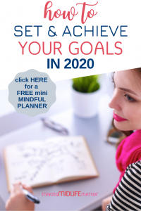Whether you are trying to lose weight, save for a special trip, go back to school, or have your garage neat and organized by the end of the season, these 8 tips will help you create a realistic plan to achieve your goal!