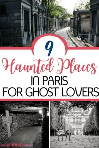Since Paris's history spans centuries, it's filled with supposedly haunted places. In fact, some of the most popular landmarks in Paris are said to have ghosts inside of them! Check out these 9 haunted places in Paris.
