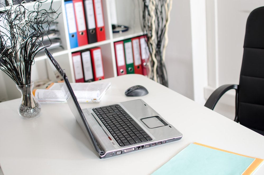 How To Keep Your Home Office Clean & Organized