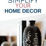 Simplifying your home decor isn't only aesthetically pleasing, it allows you to create a peaceful place to come home to everyday. Make your home a place to recharge your energy following these tips.