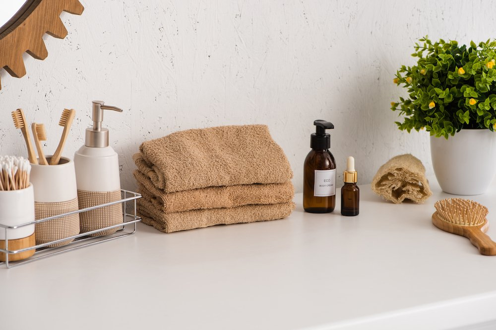 The journey to zero-waste living is still long but you can create a more sustainable bathroom on a small budget using these simple tips.
