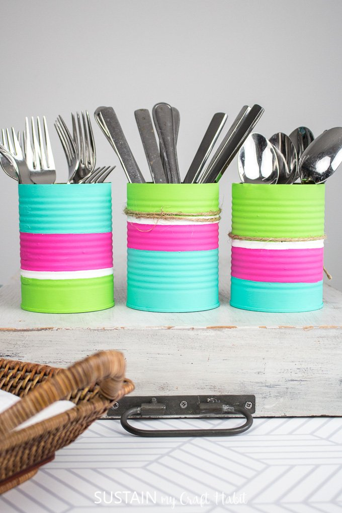 If you're looking for budget-friendly organization ideas, here are some dollar store kitchen organization ideas for your home.