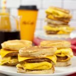 If you love McDonald's breakfast, then you are going to love this delicious copycat McDonald's Sausage McGriddle recipe. So easy to make and you can substitute some ingredients to make a healthier version with my suggestions.