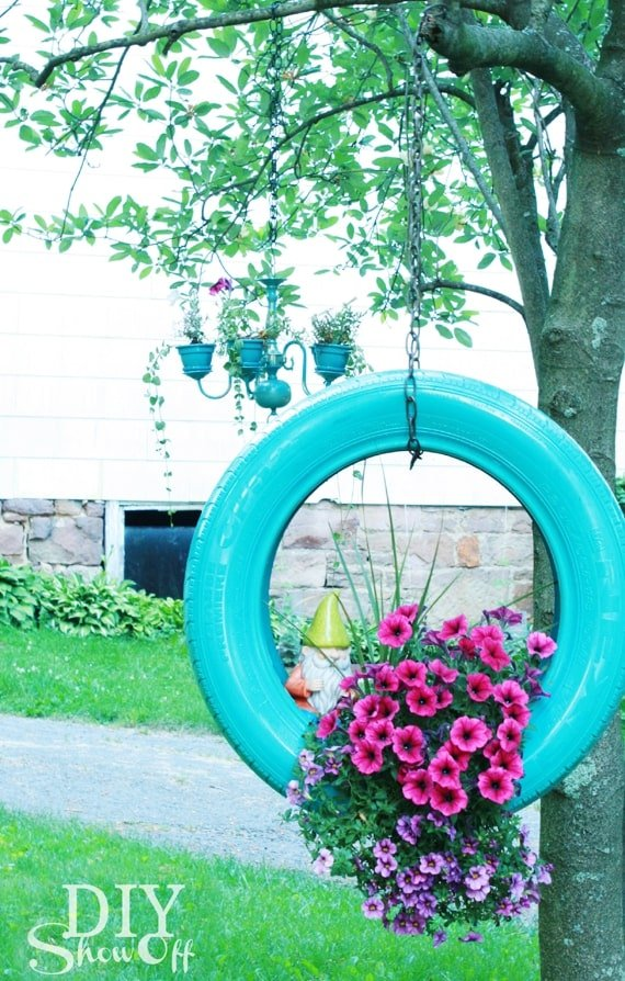 The garden is the perfect place to get whimsical and create fun focal points but you don't have to spend a bundle. Try these 15 DIY garden projects that use items you probably already have around your home. They will make you smile all summer long!