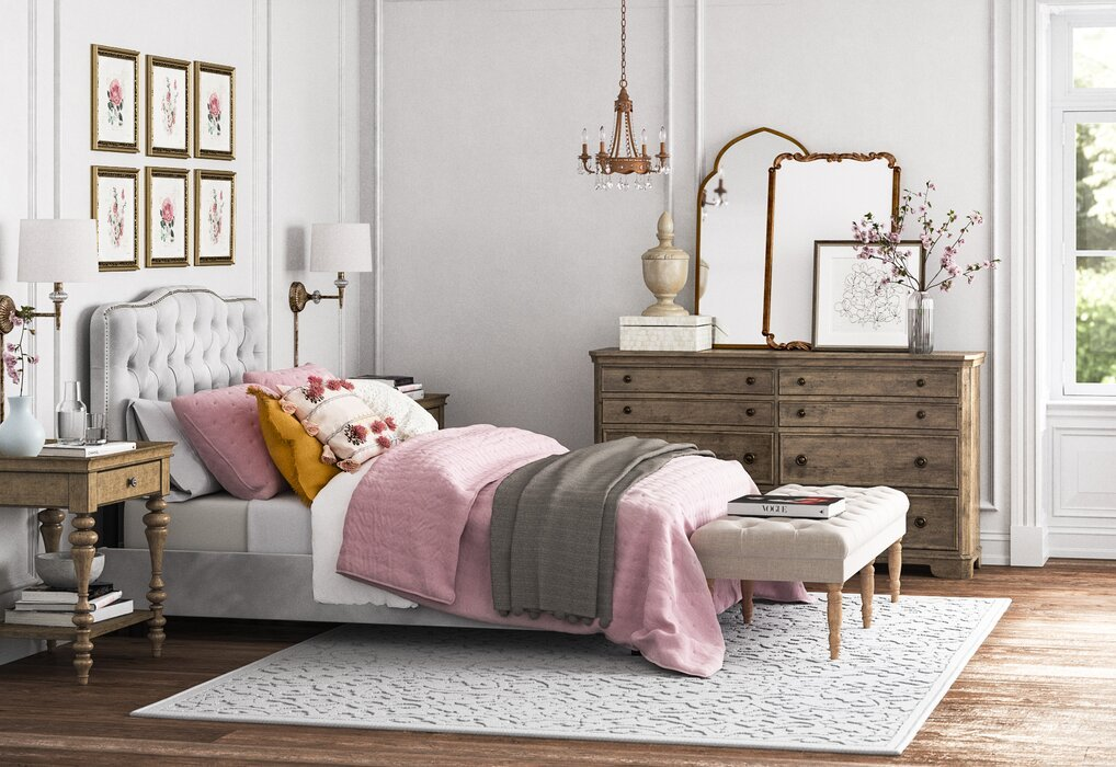 Want to update your bedroom on a budget? Here are some of our favorite ways to give your bedroom an affordable makeover.