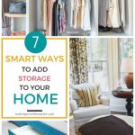 Ever felt like you're lacking storage space in your home? Here are a couple of ideas to help you add storage to your home and keep you organized.