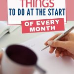 Getting organized at the start of the month doesn't need to be an enormous task - a few simple actions at the start of each month will help. Here are 10 simple things you can do to help boost productivity and feel positive about the weeks ahead.