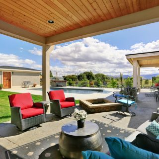 By adding a few luxury features to your backyard, you can turn it into your own private paradise. Not only does that increase your enjoyment of your home but it also increases your home's value and appeal if you are considering selling it in the future.